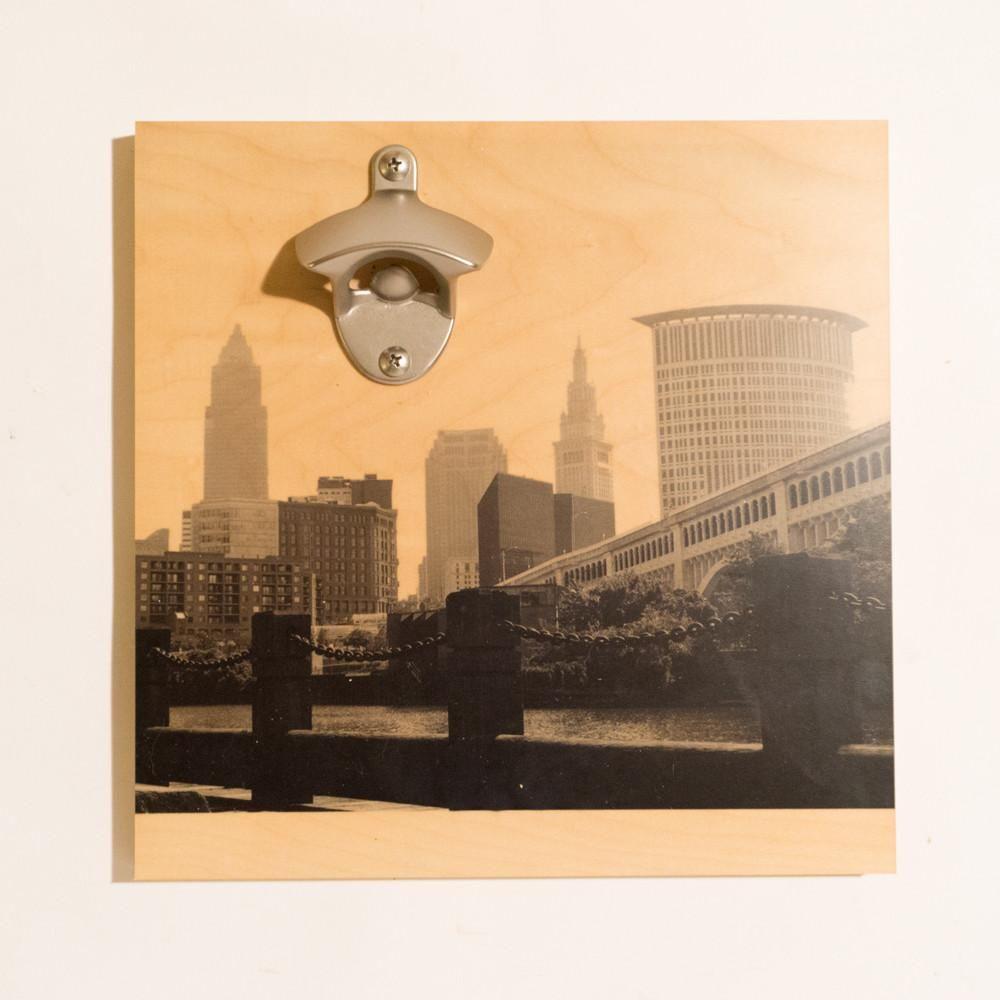 Cleveland Skyline Bottle Opener | Products | Pinterest