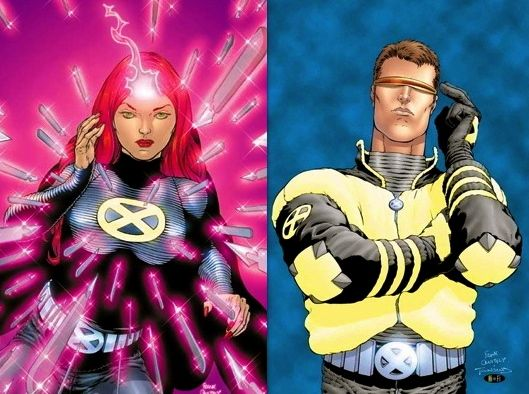 New X Men Jean Grey And Cyclops By Artist Frank Quietly Men Jeans Grey Xmen Cosplay Jean Grey