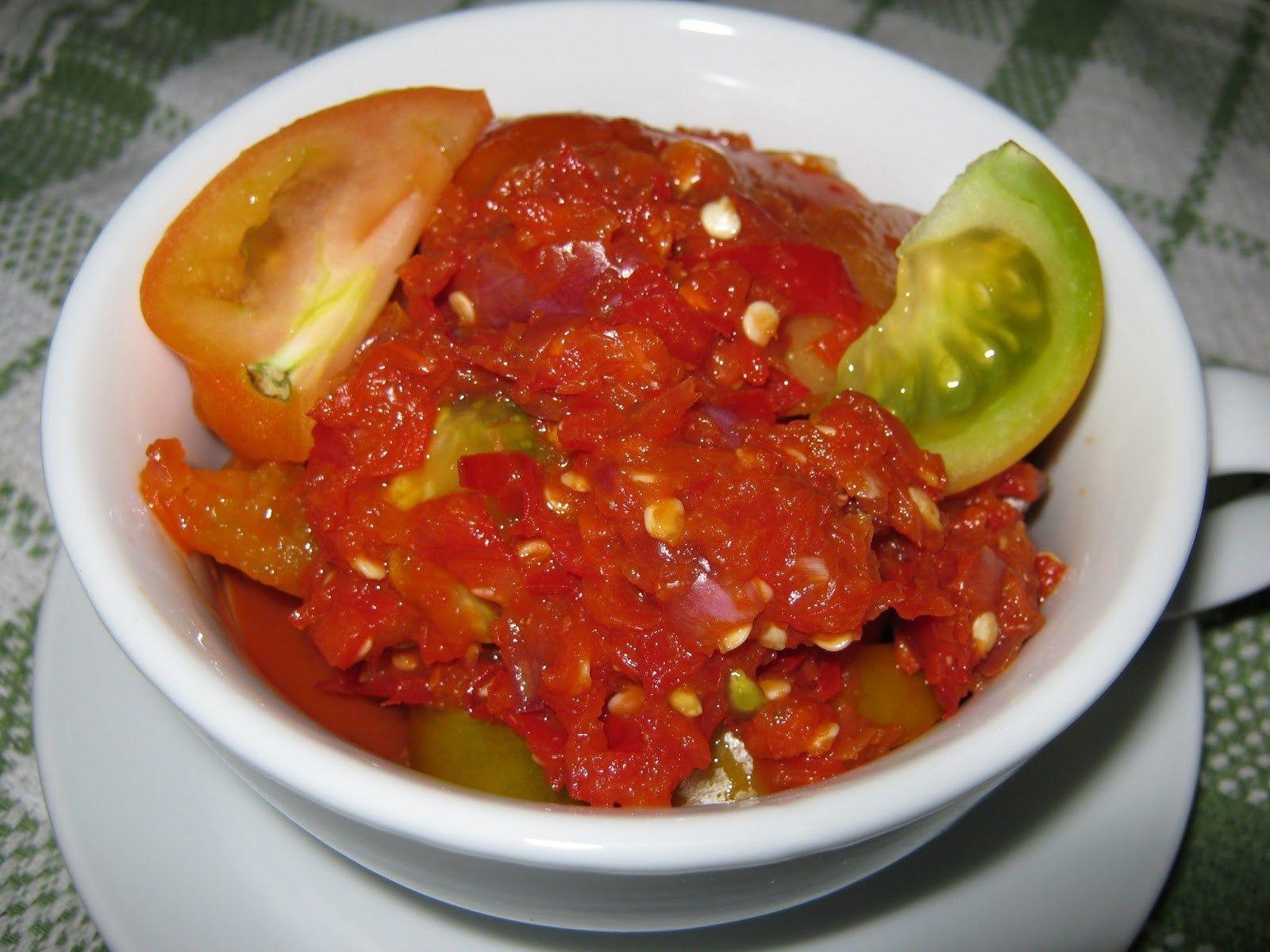 5 Resepi Sambal Belacan Yang Meletup Masakan Indonesia Makanan Masakan