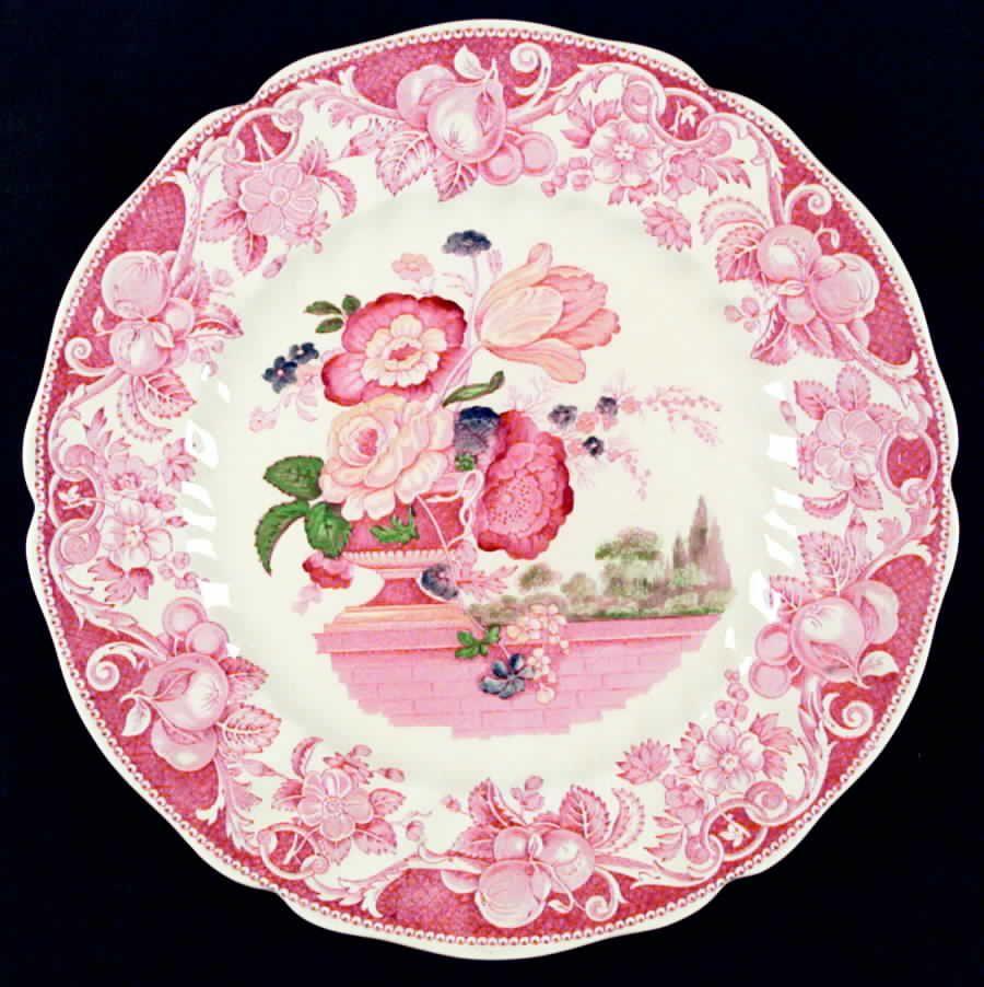 Royal Doulton Pomeroy Red Dinner Plate 561345 | eBay