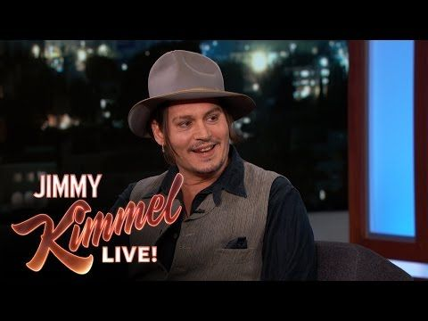 Jimmy Kimmel Live: Johnny Depp Doesn't Know the Origin of His Name