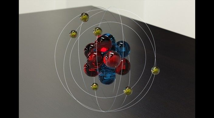3D Bohr Models of atoms -carbon | School Project Ideas ...