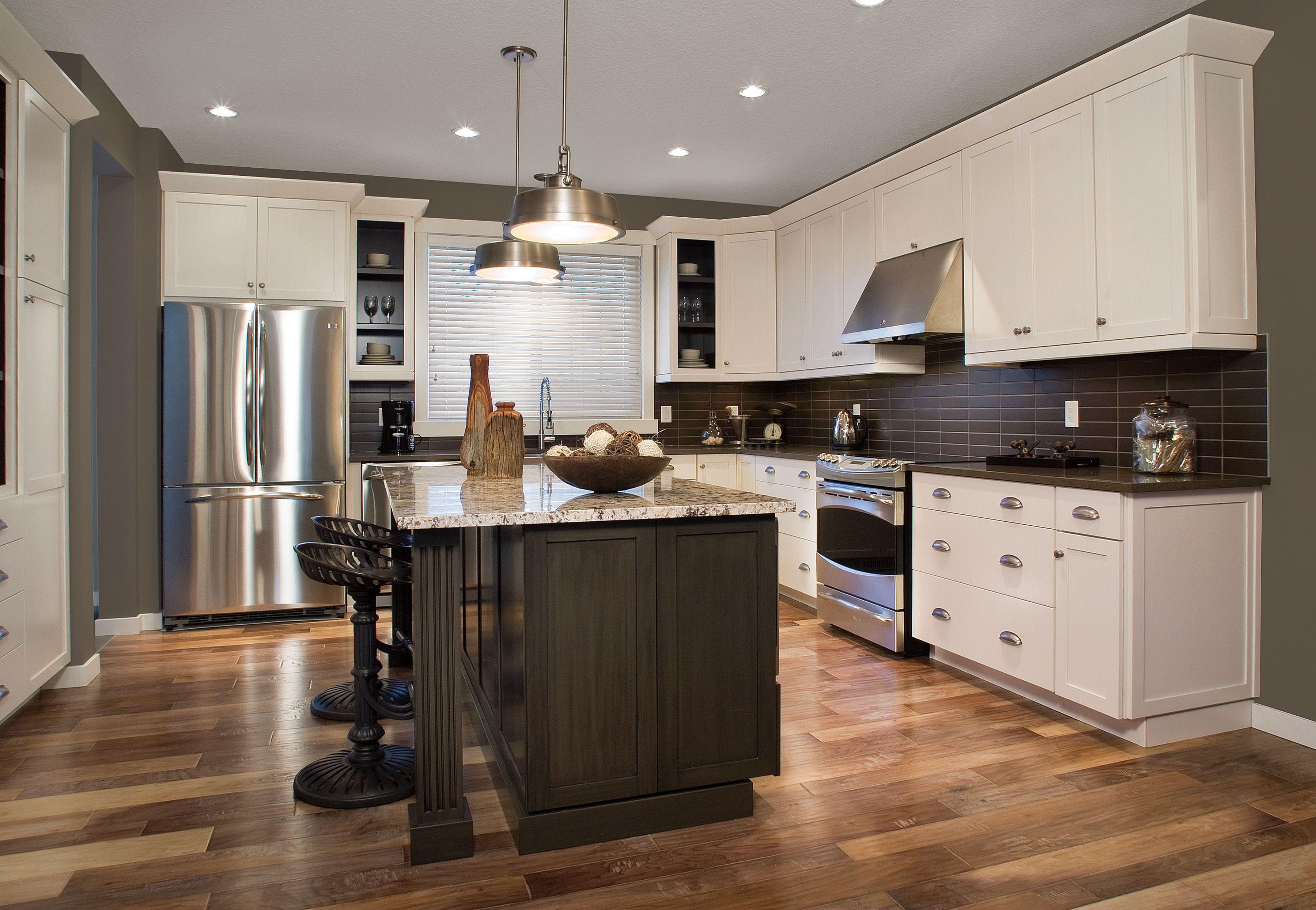 two huntwood kitchens for homesavi in edmonton, alberta