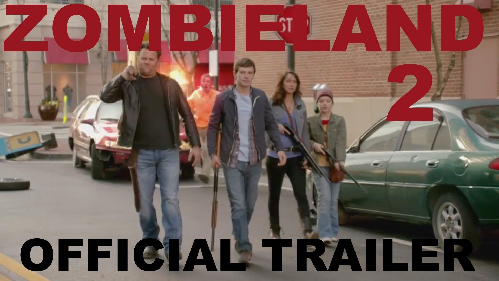Zombieland 2 2017 [OFFICIAL TRAILER] | Films to watch | Official trailer, Zombieland 2, Zombieland