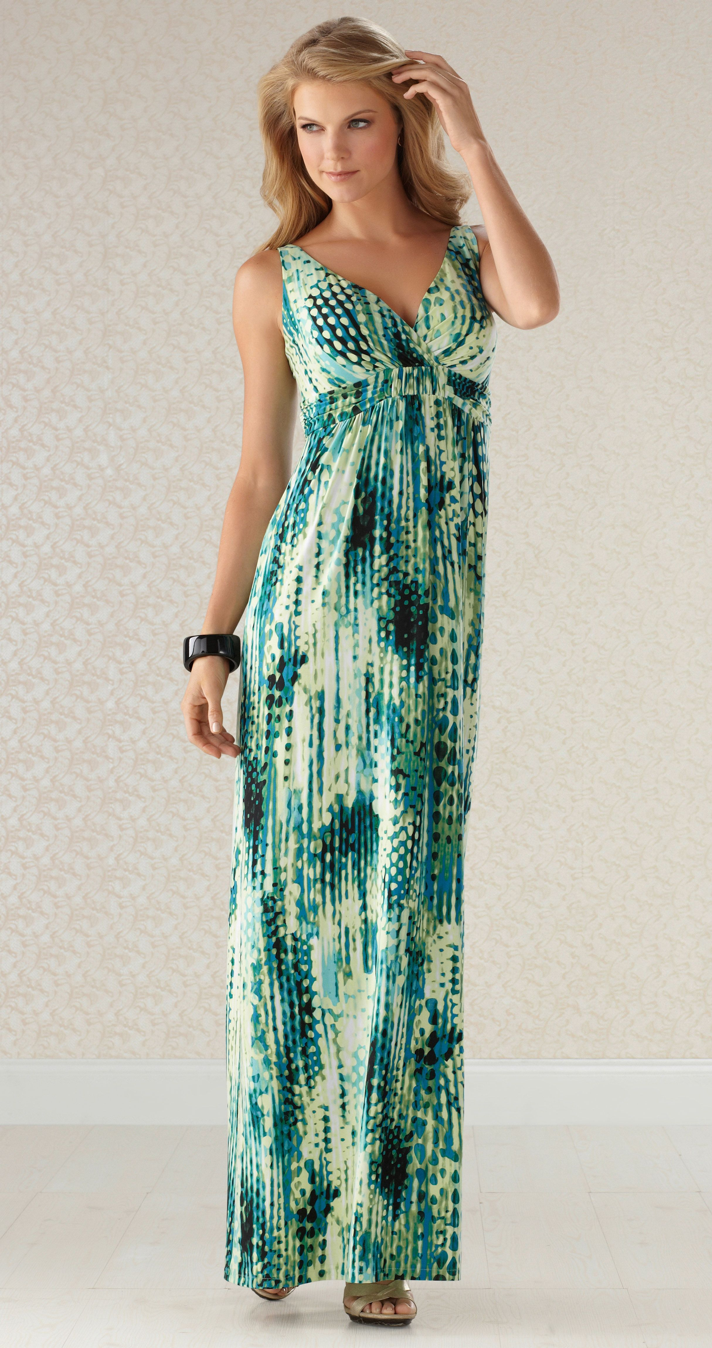 e8e1f6a1ff6 Quite An Impressionist   Soma Britney Maxi Dress  SomaIntimates  summer My  Soma Wish List Sweeps