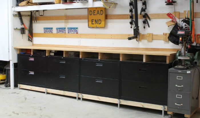 using kitchen cabinets in garage file cabinets and metal cabinets the garage journal 8797