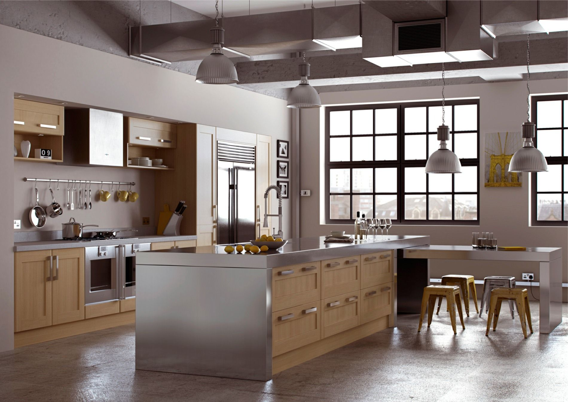Ohio Oak Mastercraft Kitchens Contemporary Kitchen Kitchen Design Complete Kitchens
