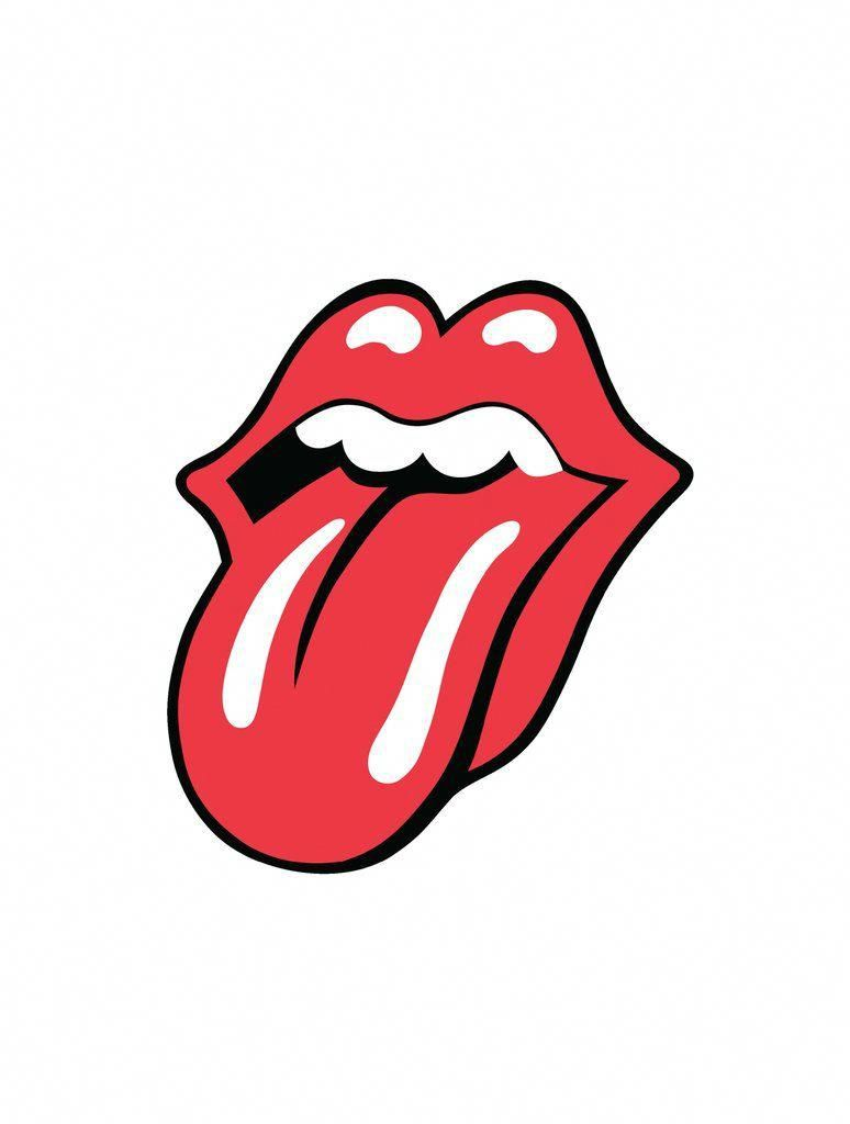 The Rolling Stones Tongue Logo 1971 Lithograph