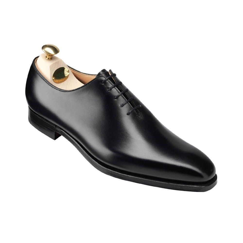 New Handmade wholecut oxford  Men Shoes in Black fine calf leather is part of Oxford shoes men -