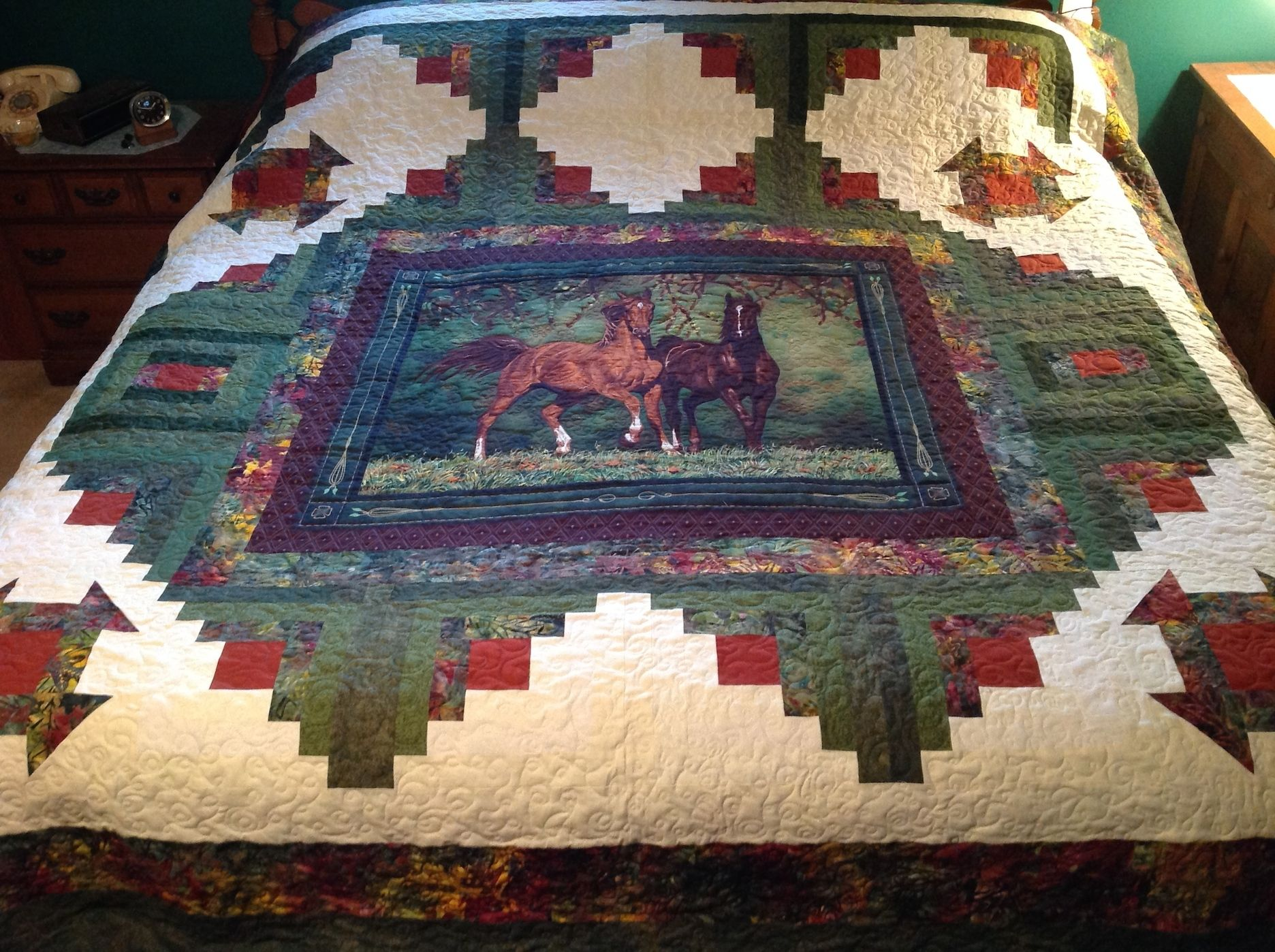 Another Horse Quilt Quilts Of Merit Horse Quilt