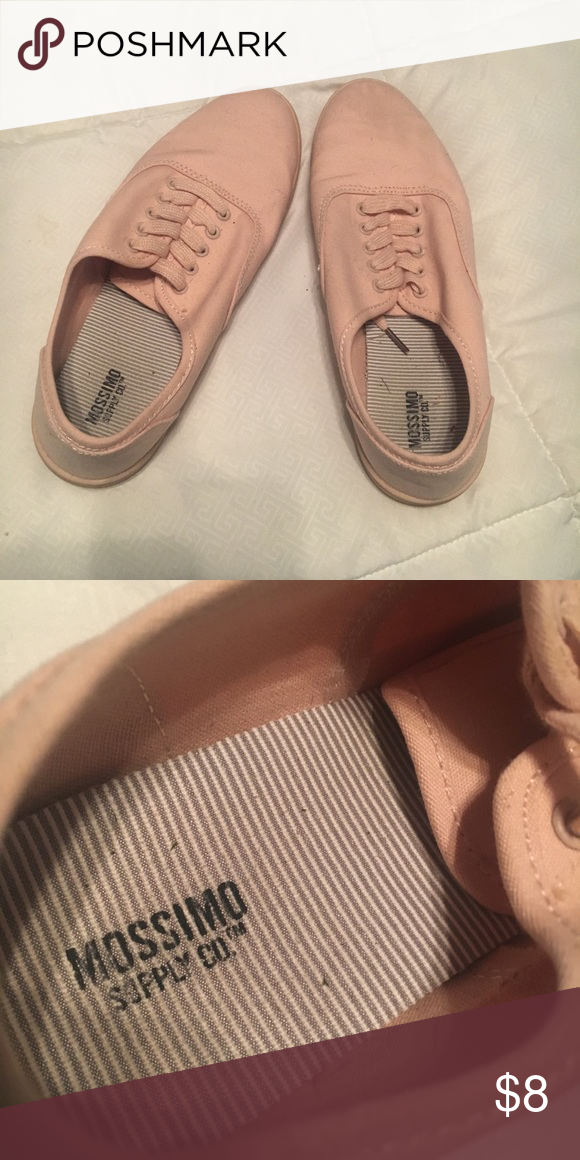 Mossimo slip ons Light pink slip on shoes. Bought from Target! Mossimo  Supply Co. Shoes Sneakers fa798f4579c5
