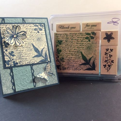 Stampin-Up-Lot-RARE-RETIRED-Fresh-Cuts-Almost-like-Brand-NEW