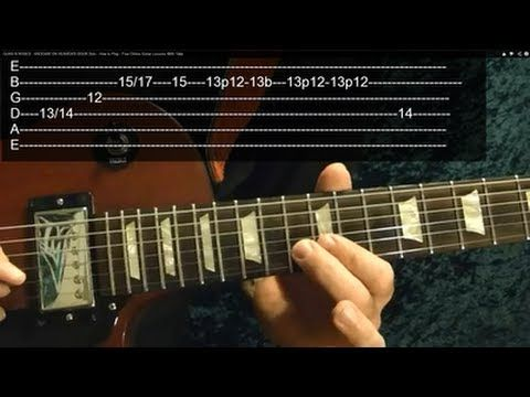 Badfinger Day After Day Guitar Lesson With Tabs Wgeorge