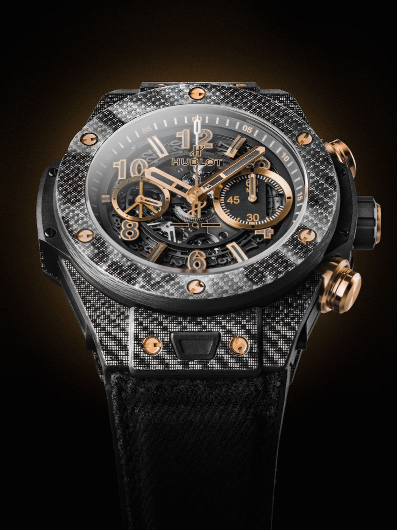 Hublot Big Bang Unico Italia Independent - Black AND Gold Camouflage Peace Lover - Baselworld 2016 Première