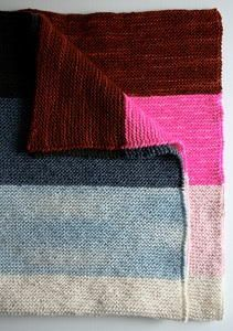 964b663971193 Knitting an afghan has never been easier. This Simple Striped Seed Stitch  Afghan is a great way for those just beginning knitting to practice a new  stitch