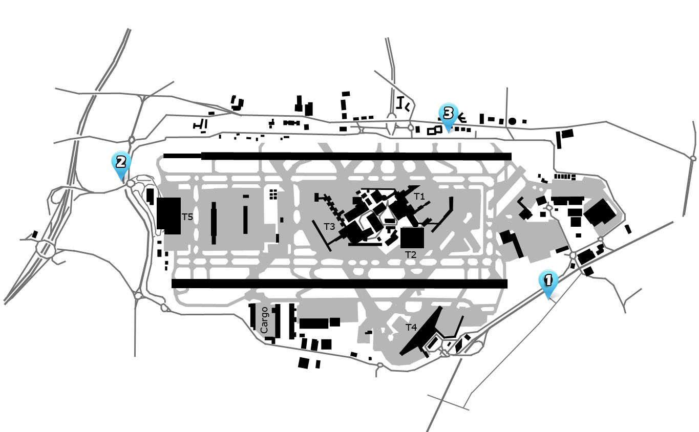 London Heathrow Lhr Airport Diagram