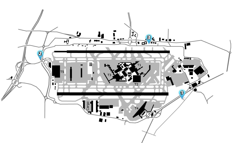 london heathrow (lhr) airport diagram