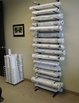 Etonnant Vis I Rack High Capacity Blueprint Storage Type III Paper Storage, Diy  Storage