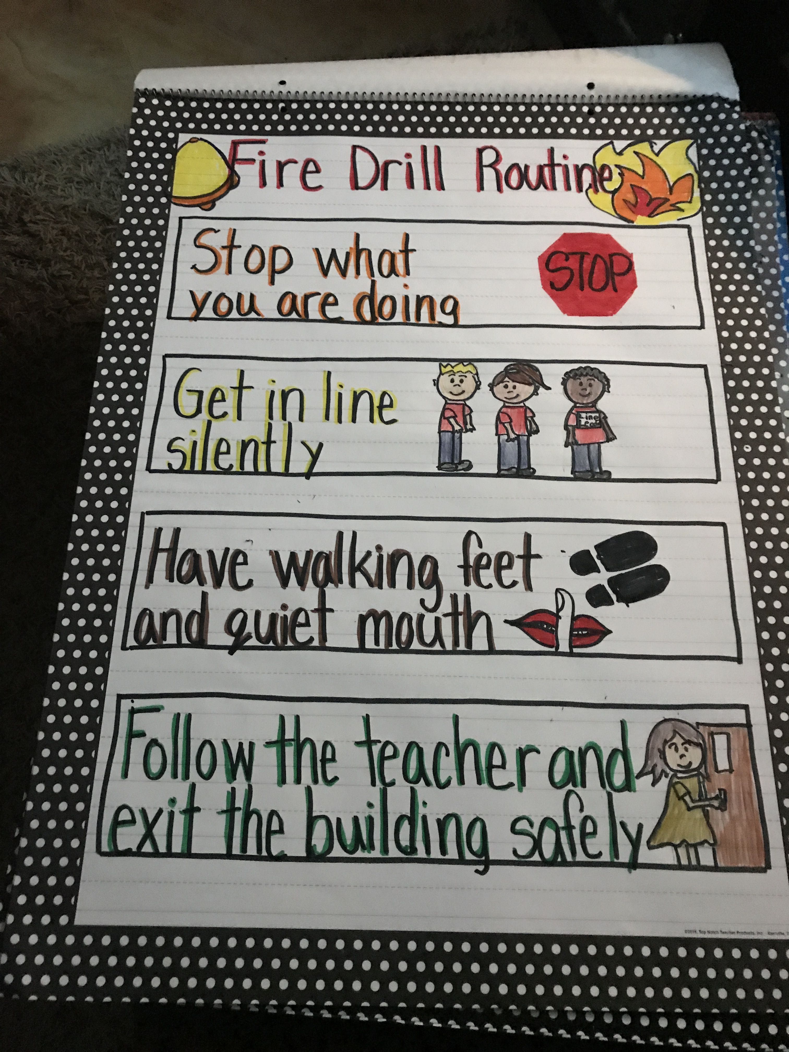 Fire Drill Routine With Images