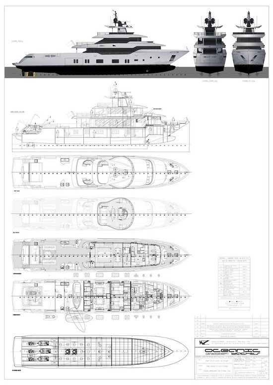 Oceanic Yachts signs contract for first Oceanic 140 - New Orders - contract layouts