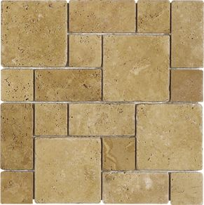 Travertine Tile Designs travertine tile flooring french pattern | travertine tile