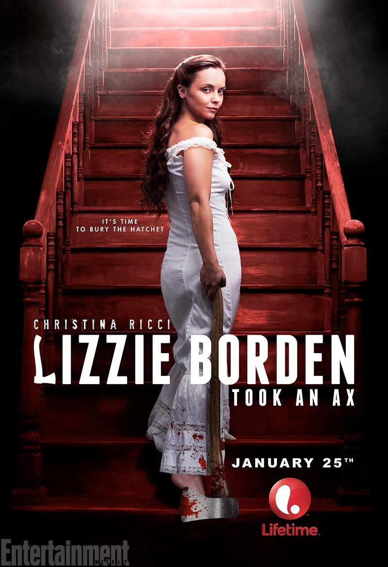 First Look At Christina Ricci As Lizzie Borden Com Imagens
