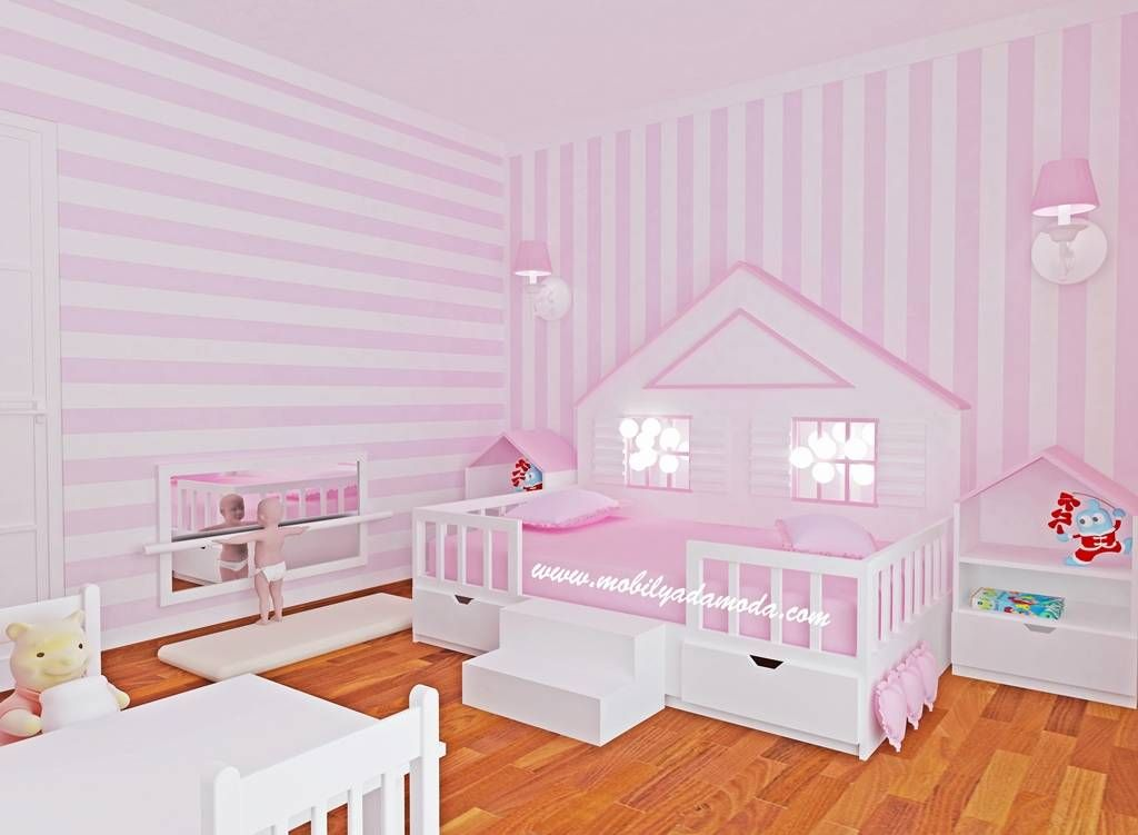 Photo of Montessori bebek çocuk odası modern çocuk odası mobi̇lyada moda modern ahşap ahşap rengi   homify