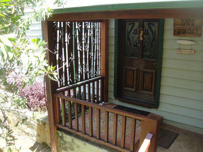 Bambu arredamento ~ Laser cut metal privacy screen bamboo arredamento esterno