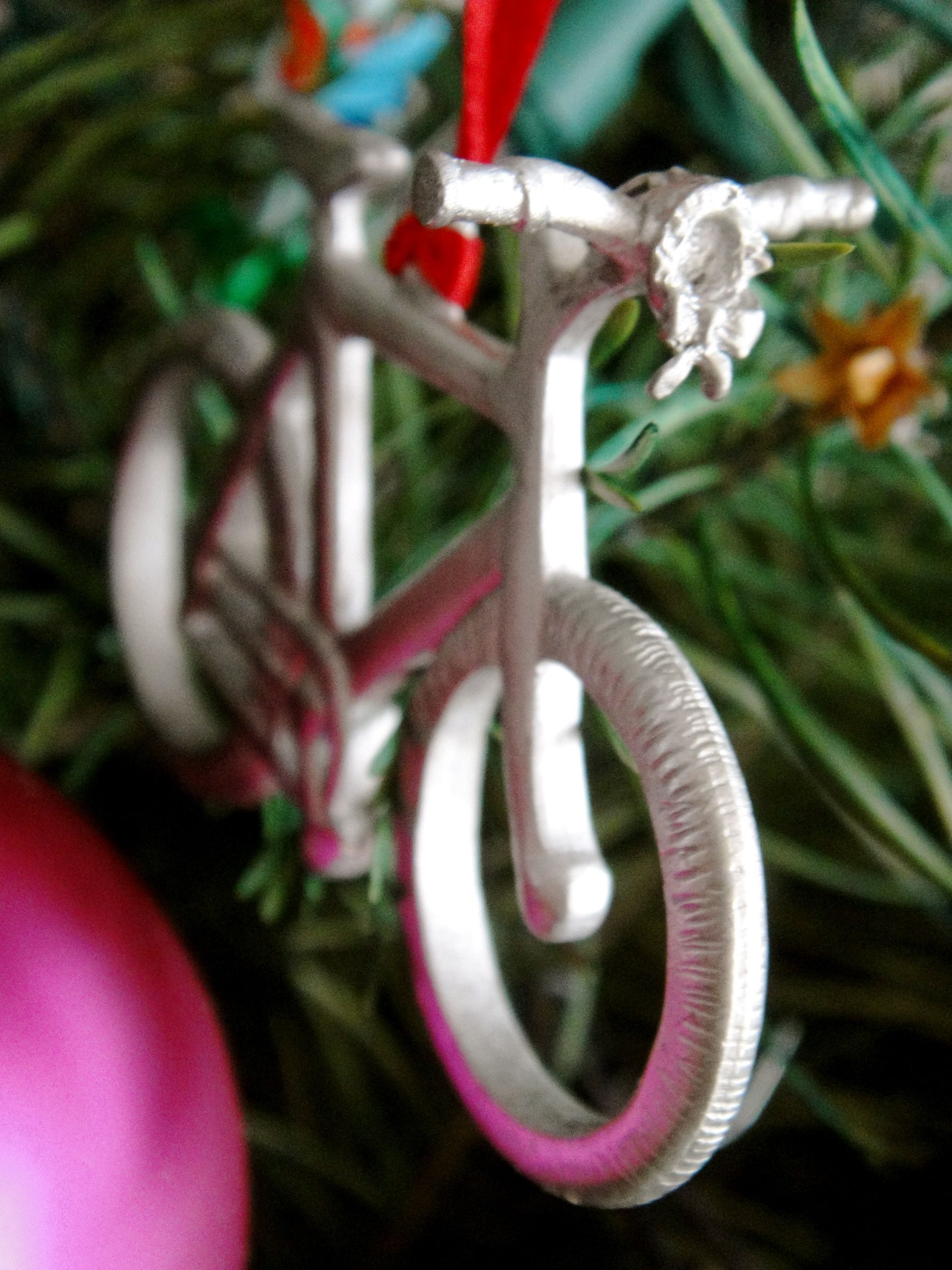 tree decorating bicycle style christmas ornamentbicycle - Bicycle Christmas Ornament