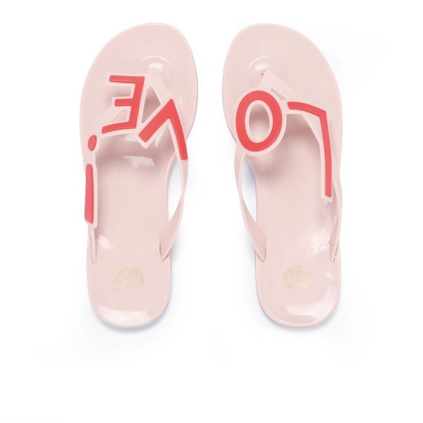 Mel Women's Love City Flip Flops - Nude Womens Accessories | TheHut.com