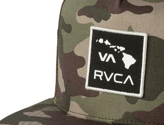 Drift Trucker Camo Snapback Cap By Rvca Snapback Cap Rvca Cap