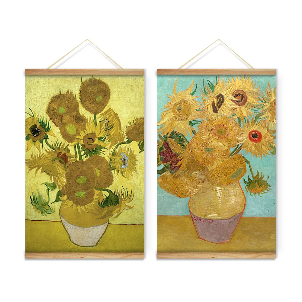 Still Life Sunflowers Vase Van Gogh Decoration Wall Art Pictures ...