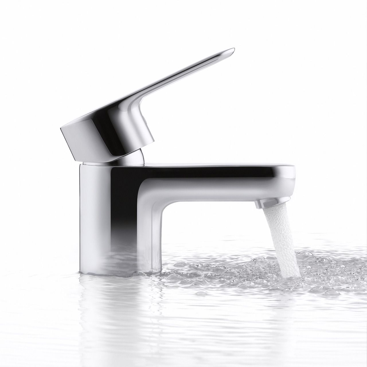 single handle bathroom sink faucet