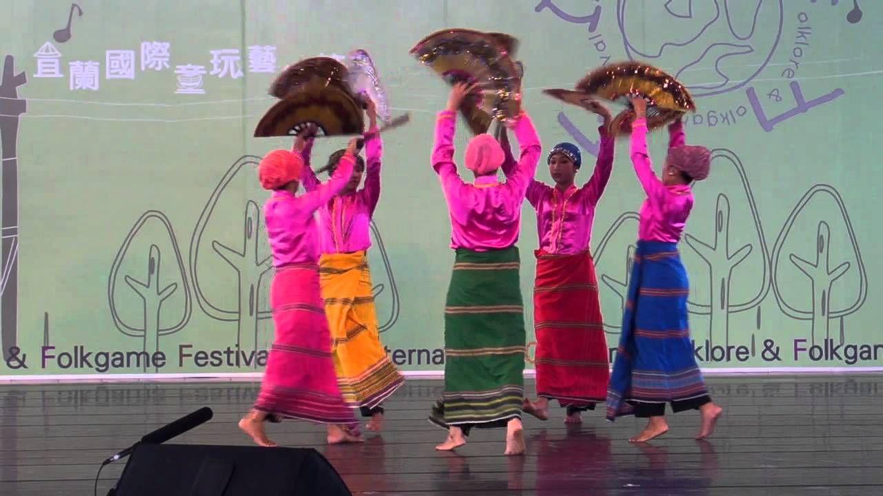 Parangal dance company philippine folk dance -  Melengas Dance Ensemble Philippines Folkdance Fan Dance