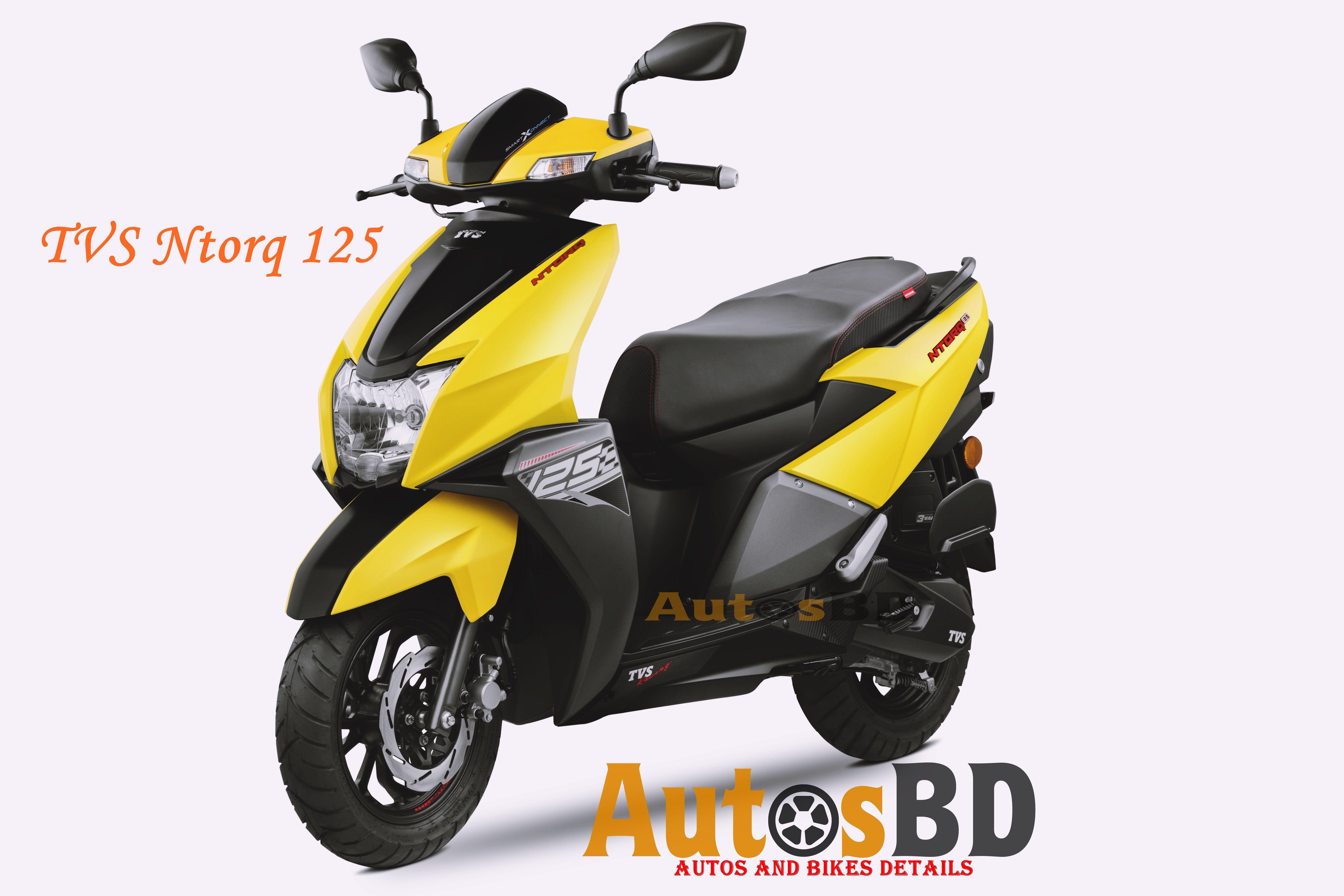 Tvs Ntorq 125 Specification Bike Design Tyre Size Led Tail Lights