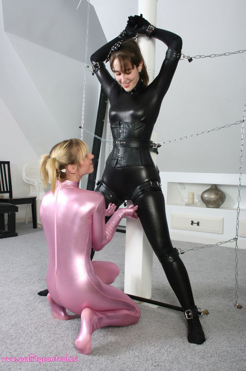 Latex cat suit sex
