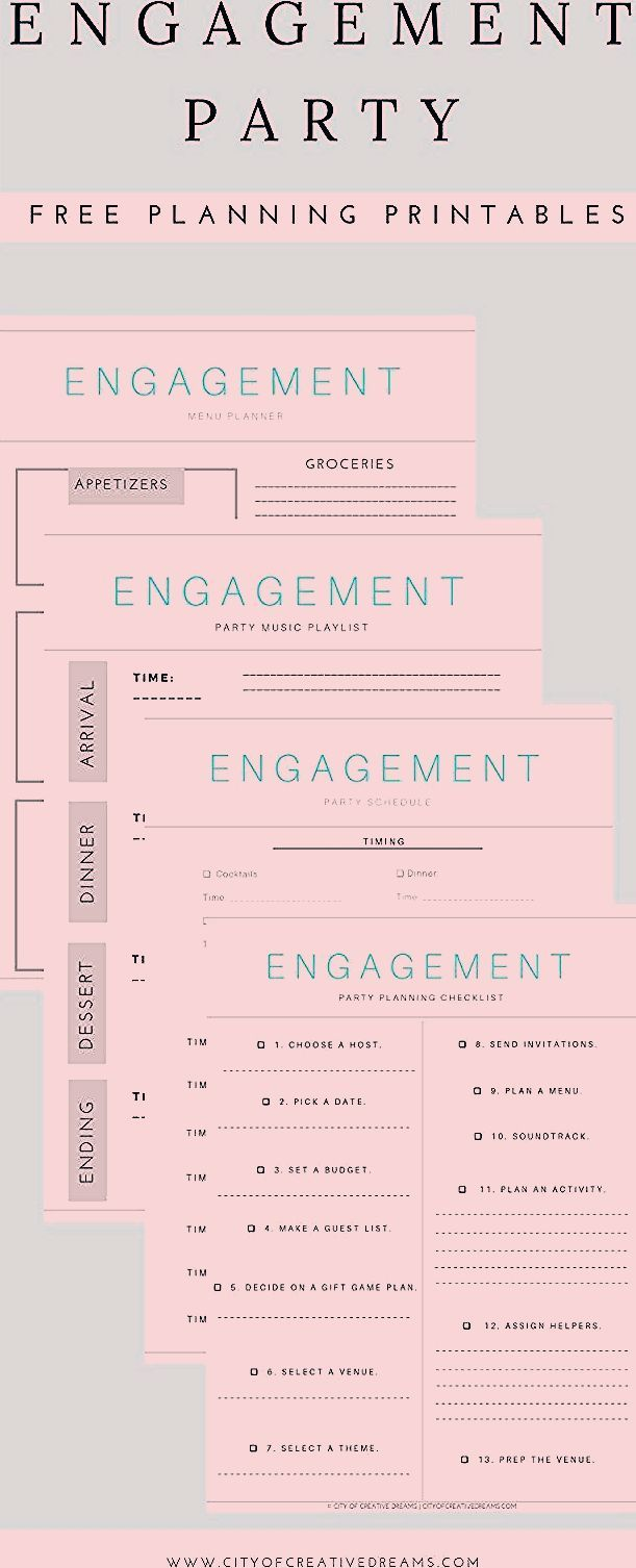 Photo of Ultimate Engagement Party Planning Checklists – City of Creative Dreams