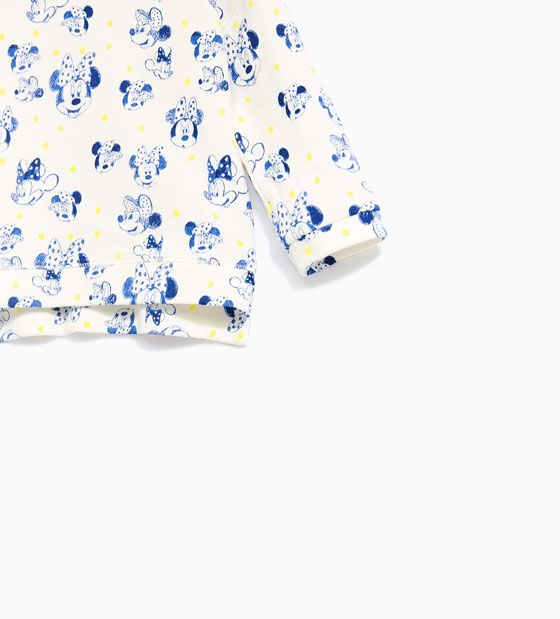Image 2 of MINNIE MOUSE SWEATSHIRT from Zara