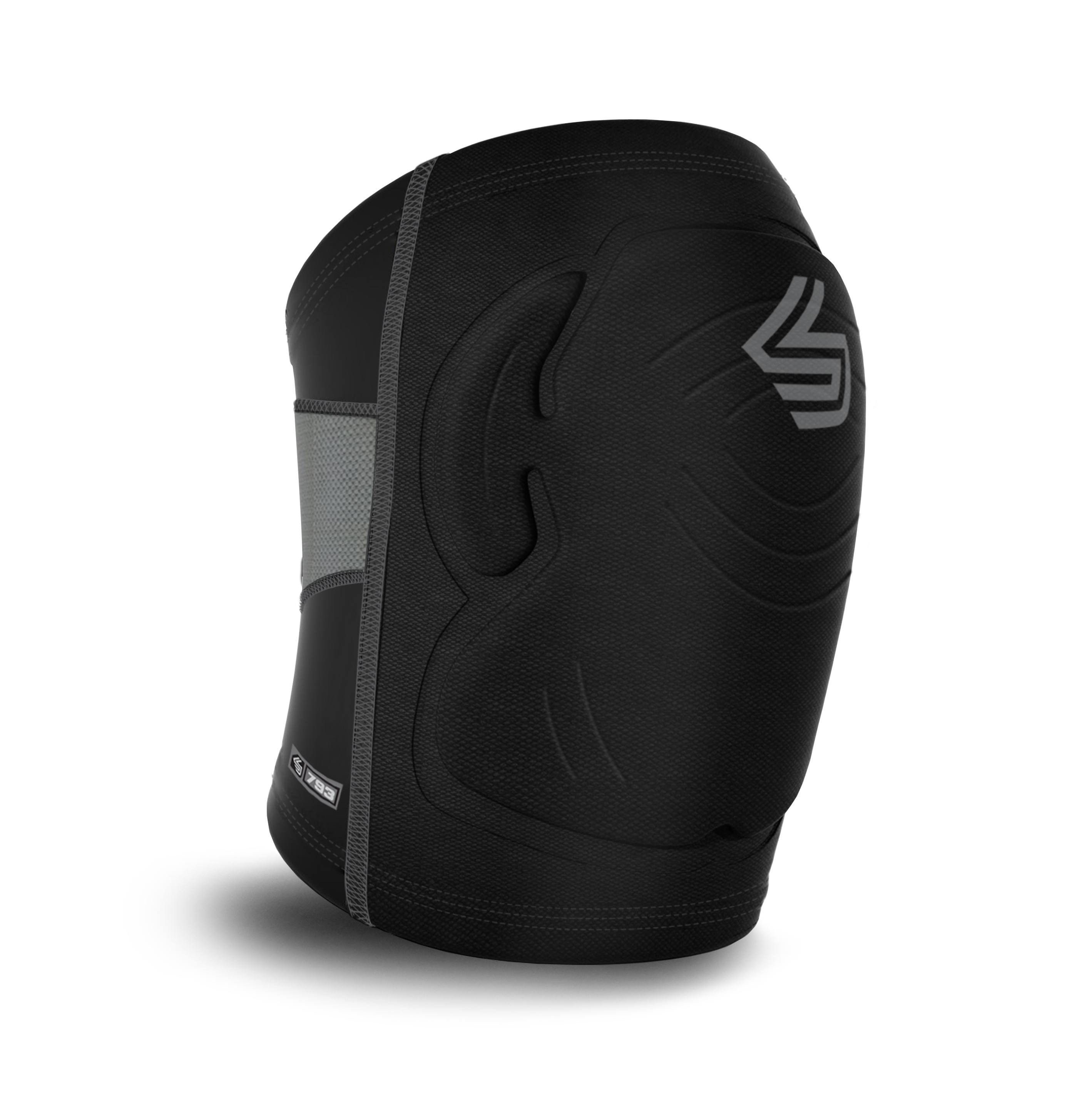 The Shockskin Basketball And Volleyball Protective Knee Pads Offers Lightweight Flexible Protective Shockskin Padding That Contours With Images Straps Supportive Knee Pads