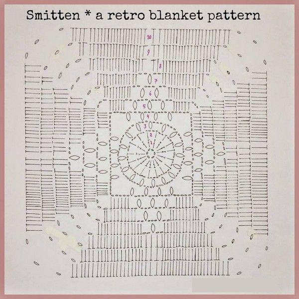 Si usted está buscando un patrón para hacer una hermosa manta ...