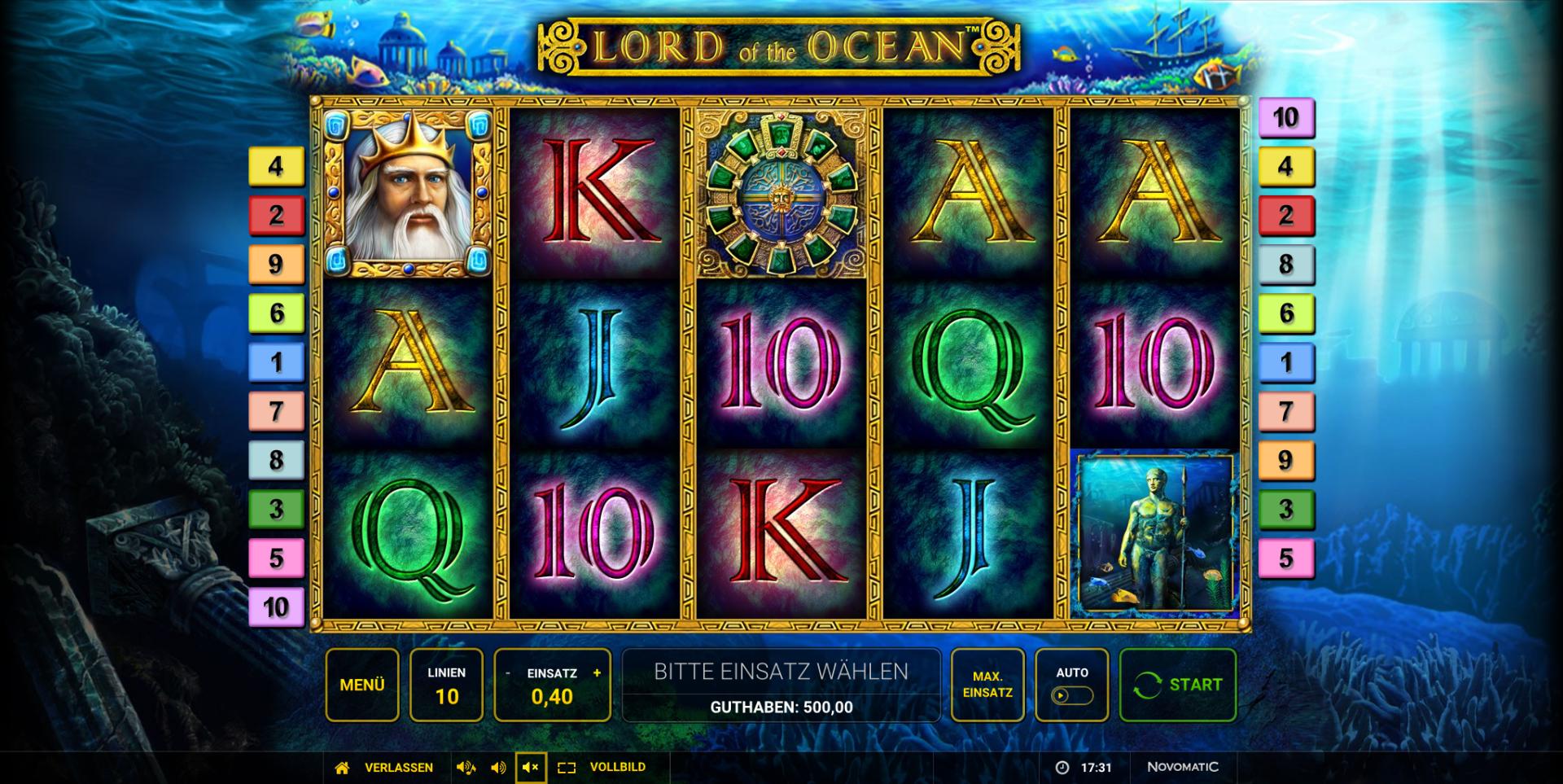Slot Spielen Machine Lord Ocean