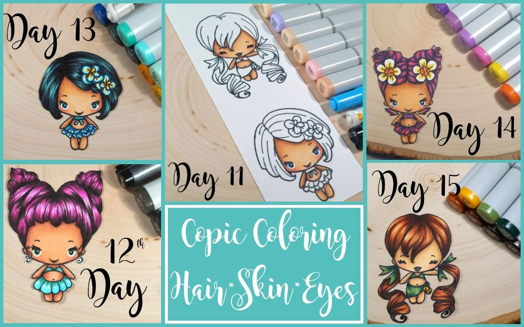 Copic Coloring Series: Hair, Skin and Eyes | Copic, Color ...