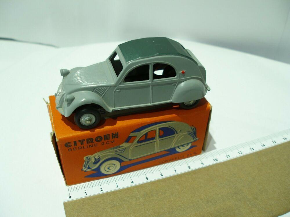 J R D Citroen 2 Cv Avec Malle Capote Vert Fonce Rare Capote Toy Car Toys