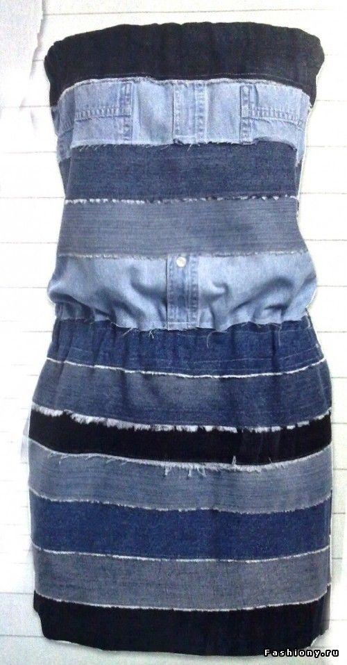 Что можно сшить девочке из старых джинсов фото 41