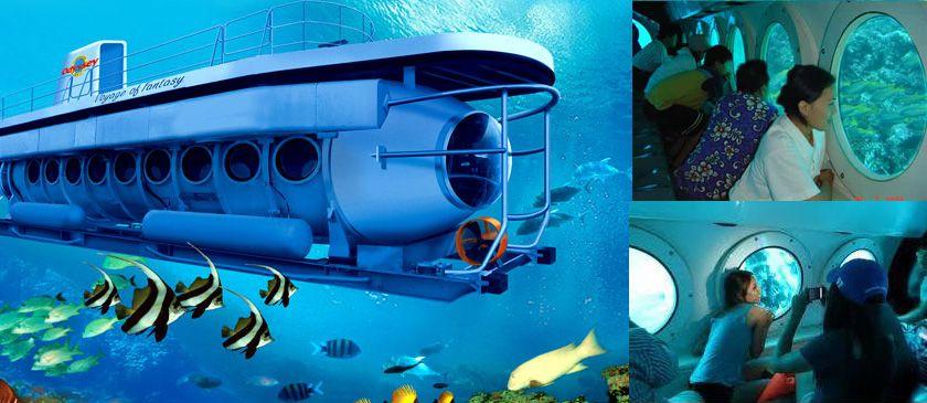 Kapal Selam Odissea Submarine 7 Objek Wisata Di Bali Untuk