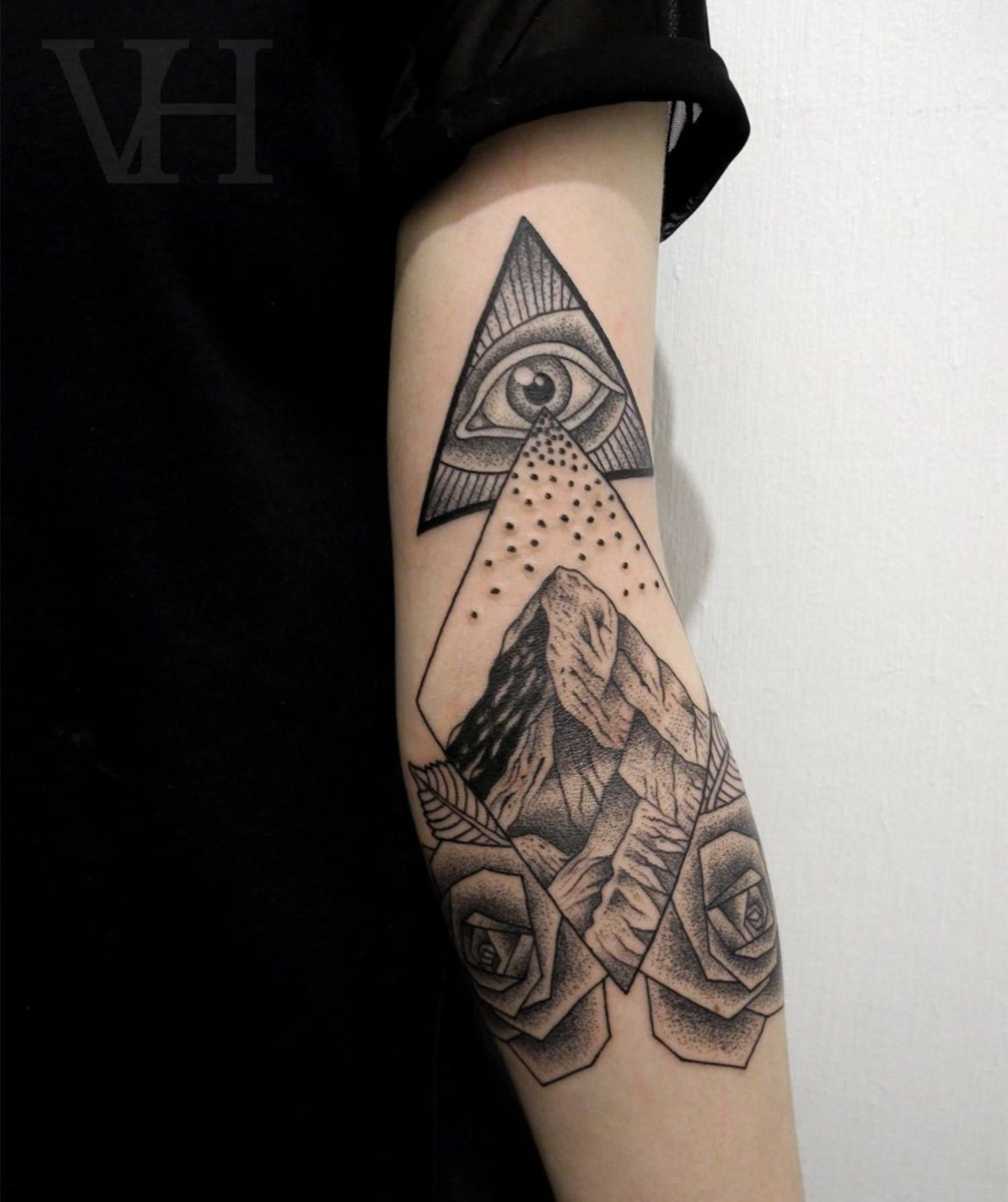 60 Eye Of Providence Tattoo Designs For Men – Manly Ink Ideas foto