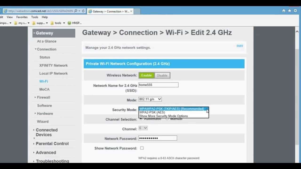 10 0 0 1 The Easiest Way To Change Your Comcast Xfinity Router Settings Walkthrough Router Setting Comcast Xfinity Router