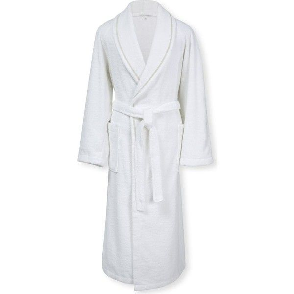 Calvin Klein Dolmite Cotton Bath Robe 160 Liked On