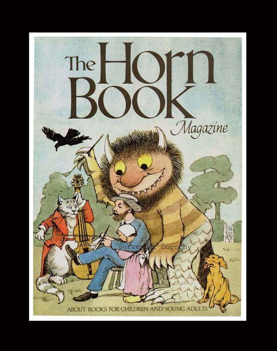Horn Book Magazine Maurice Sendak Vintage by SurrenderDorothy, $15.89