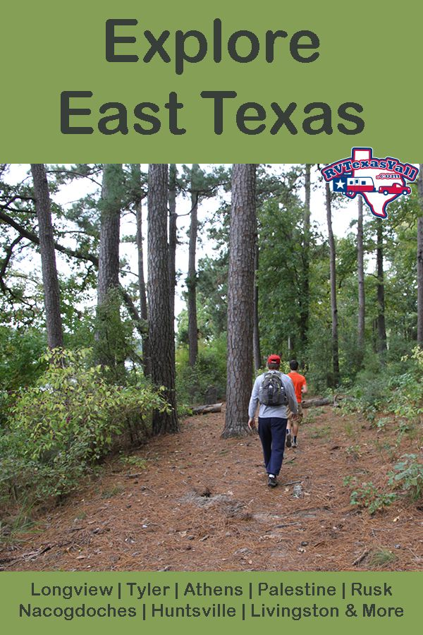RV East Texas in 2020 | Texas travel, Best rv parks, Texas ...